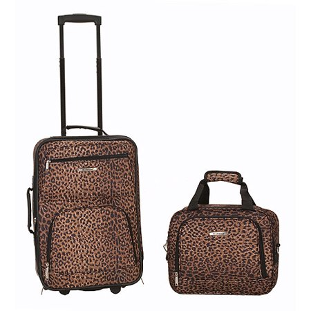 Rockland 2-Piece Rolling Luggage Set