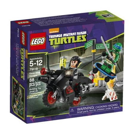 LEGO, Teenage Mutant Ninja Turtles, Karai Bike Escape Building Set (79118) - image 1 of 1