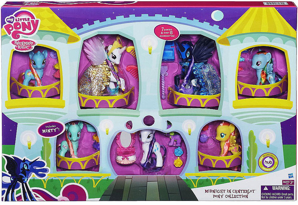 My Little Pony Exclusives Midnight in Canterlot Pony Collection by
