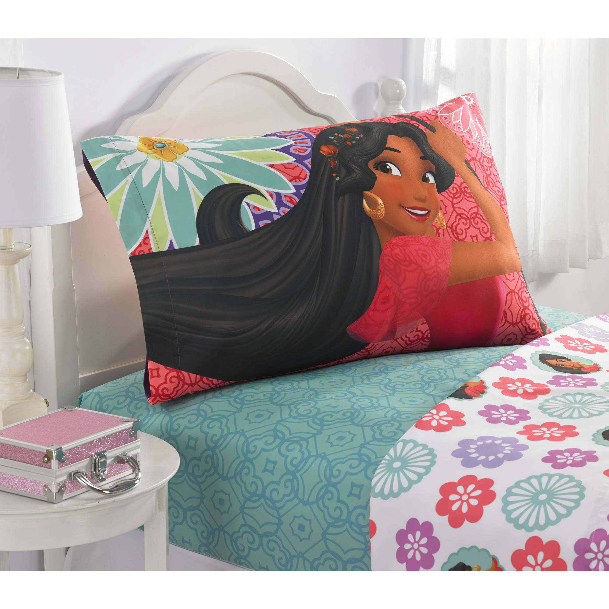 Elena Of Avalor U0027Let Your Heart Singu0027 Twin Sheet Set   Walmart.com
