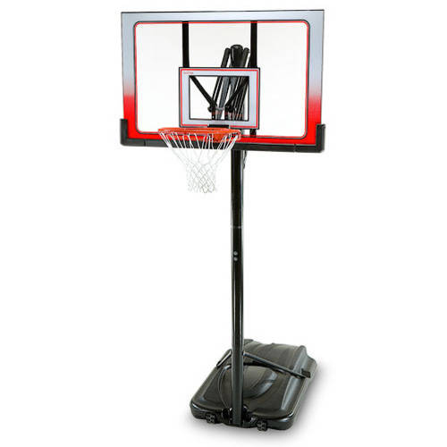 """Lifetime 1558 52"""" Adjustable Height Portable Basketball System with XL Base"""