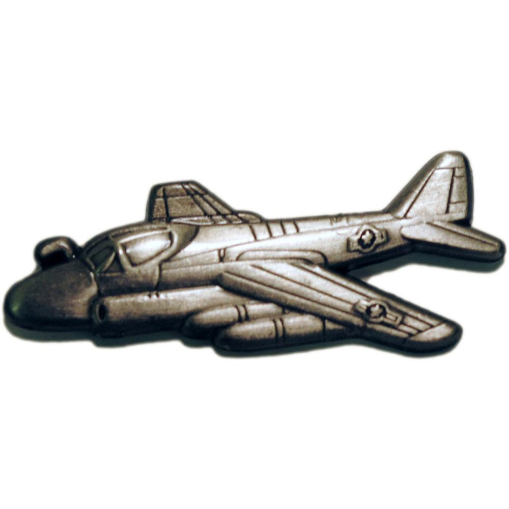 A-6 Intruder Airplane Pin Pewter 1 1/2