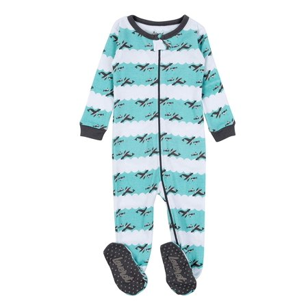 1b52f5cf7c1b Leveret - Leveret Kids Pajamas Baby Boys Girls Footed Pajamas ...