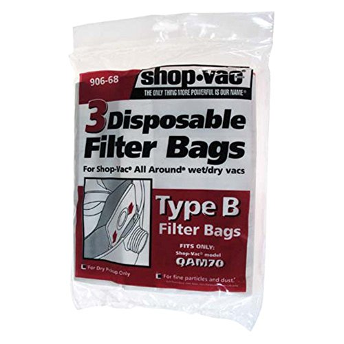 Shop-Vac All Around Disposable Collection Filter Bags