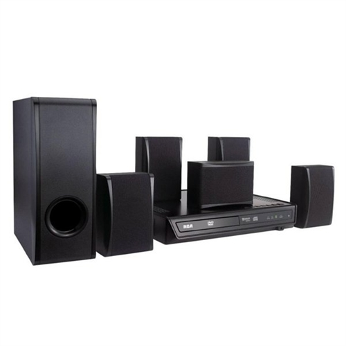 sound system at walmart. rca 100 w 5.1 home theater system rtd396 sound at walmart