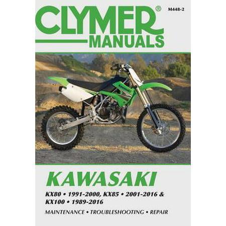 Kawasaki KX80, KX85 & KX100 : KX80 1991-2000, KX85 and KX85-II 2001-2016 on