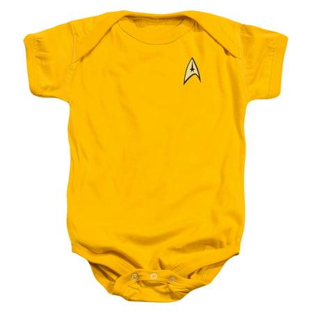 Star Trek/Command Uniform   Infant Snapsuit   Gold   24Mos  Cbs261 (Star Trek Dress Uniform)