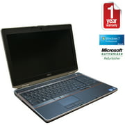 "Refurbished Dell 15.5"" E6520 Laptop PC with Intel Core i5 Processor, 4GB Memory, 250GB Hard Drive and Windows 10 Pro"