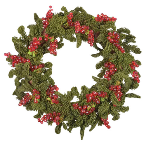 Fantastic Craft Grape Moss Pine Wreath