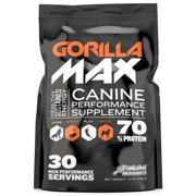 Gorilla Max Muscle Builder for Dogs (30 servings)