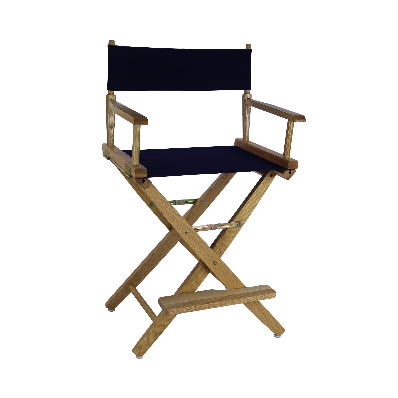 American Trails ExtraWide Premium 24 Directors Chair Natural
