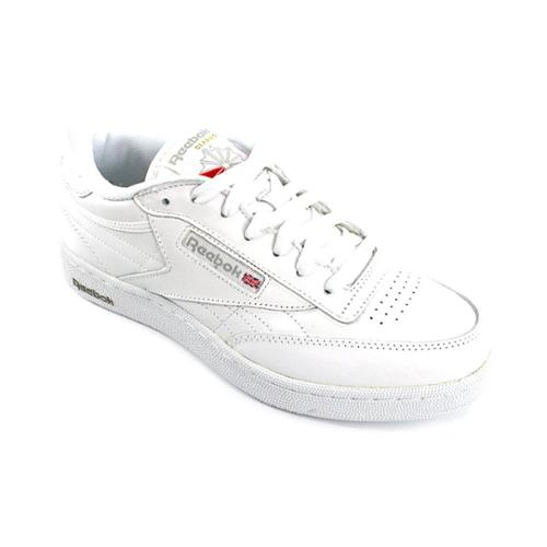 reebok club c mens size 7 5 white leather sneakers shoes