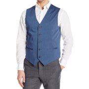 Mens Small Dual-Pocket Five-Button Vest S