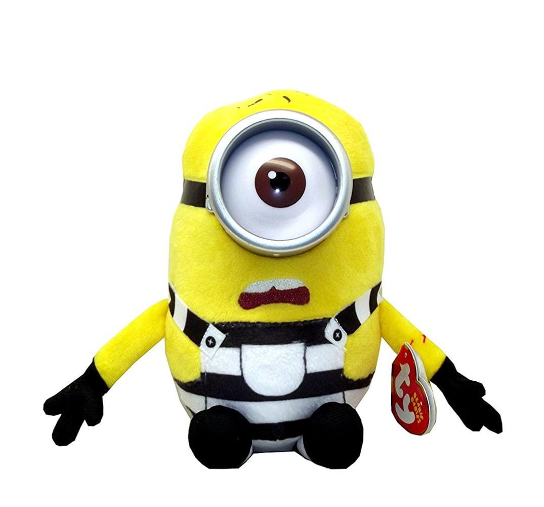 Ty Despicable Me3 Carl The Minion Plush 7 X 3 5 Inches Walmart Com