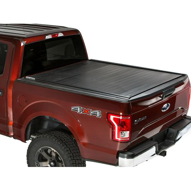 Gatortrax Retractable Mx Electric Power Tonneau Truck Bed Cover 2015 2018 Ford F150 5 5 Ft Bed Walmart Com Walmart Com