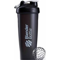 BlenderBottle Classic 32 oz. Full Color Bottle with Loop (Black)