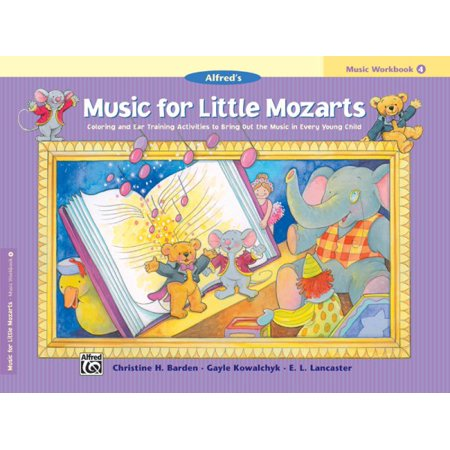 Alfred's Music for Little Mozarts Coloring & Activity Book