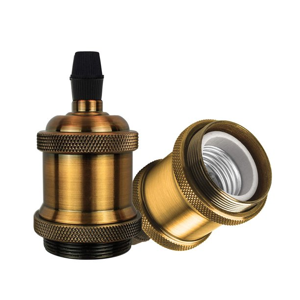 Gos Vintage Lamp Holder Fitting Kit, Vintage Lamp Holder Kit