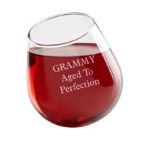 Personalized Get Tipsy! Aerating Wine Glass - Single Glass - Block