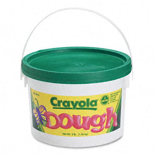 Crayola.  570015044 Modeling Dough  Green  3 lbs