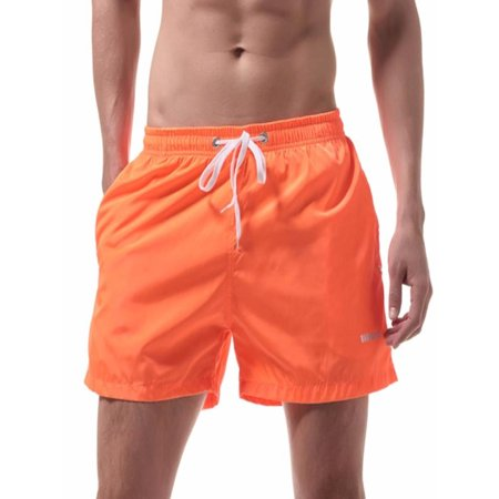 86d45ce896 Men's Shorts Swim Trunks Quick Dry Beach Surfing Running Swimming  Watershort - Walmart.com