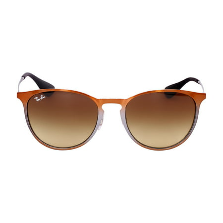 25e7d56ab4 Ray-Ban - Ray-Ban Erika Metal Frame Brown Gradient Lens Unisex Sunglasses  RB3539 - Walmart.com