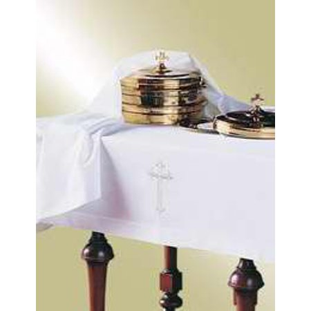 Communion table cloth element cover set latin cross set for Table th width attribute