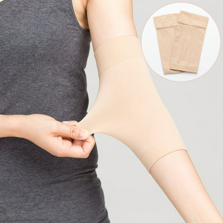 - 1 Pair Arm Shaper, Tattoo Cover Up Forearm Compression Sleeves Band Concealer Support - Special Offers