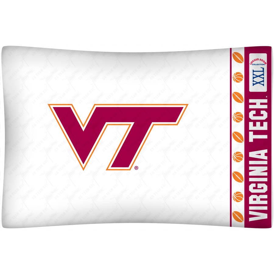 NCAA Virginia Tech Micro Fiber Pillow Case