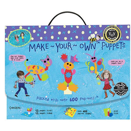 Make Your Own Puppets Kit (Make Your Own Stepping Stones)