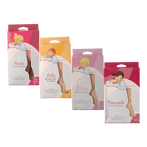Womens Heaven 4 Toes Party Pack