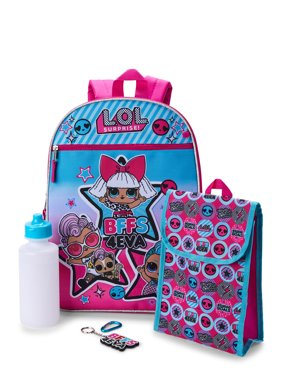 LOL Surprise 5 Piece Backpack Set