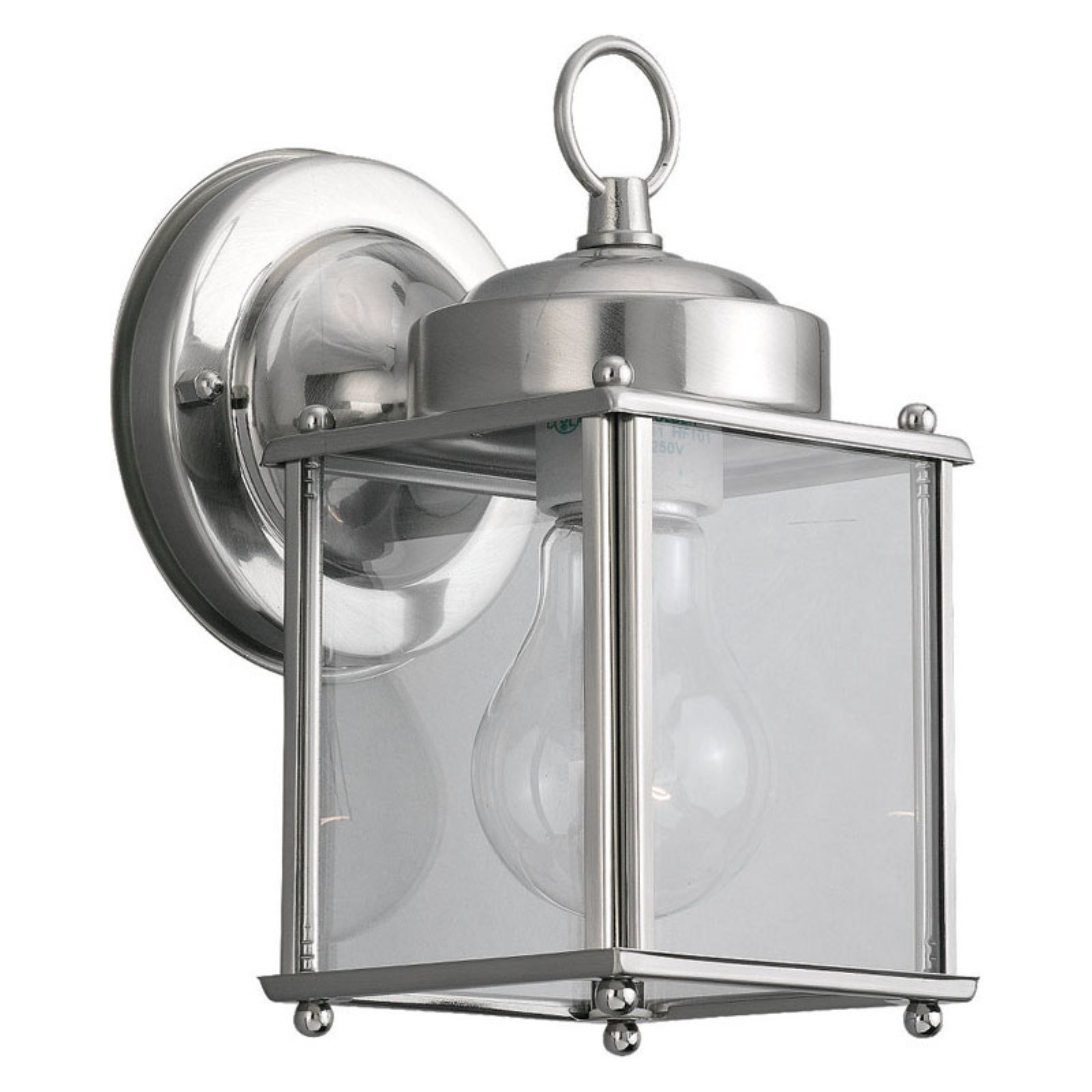 Sea Gull Outdoor Wall Light - 8.25H in. Antique Brushed Nickel