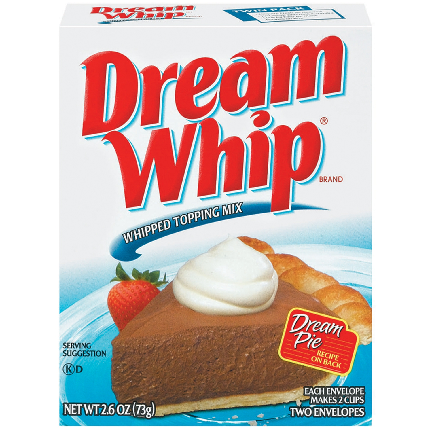 Dream Whip Whipped Topping Mix 2 ct Box