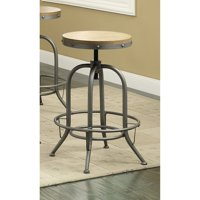 Transitional Bar Stools, Set of Two