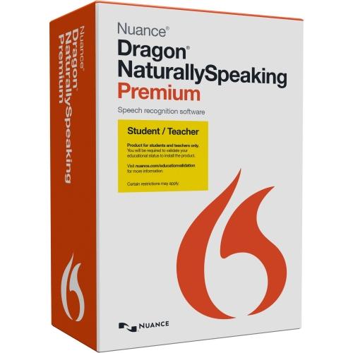 Nuance Dragon NaturallySpeaking v.13.0 Premium Student/Teacher - 1 User