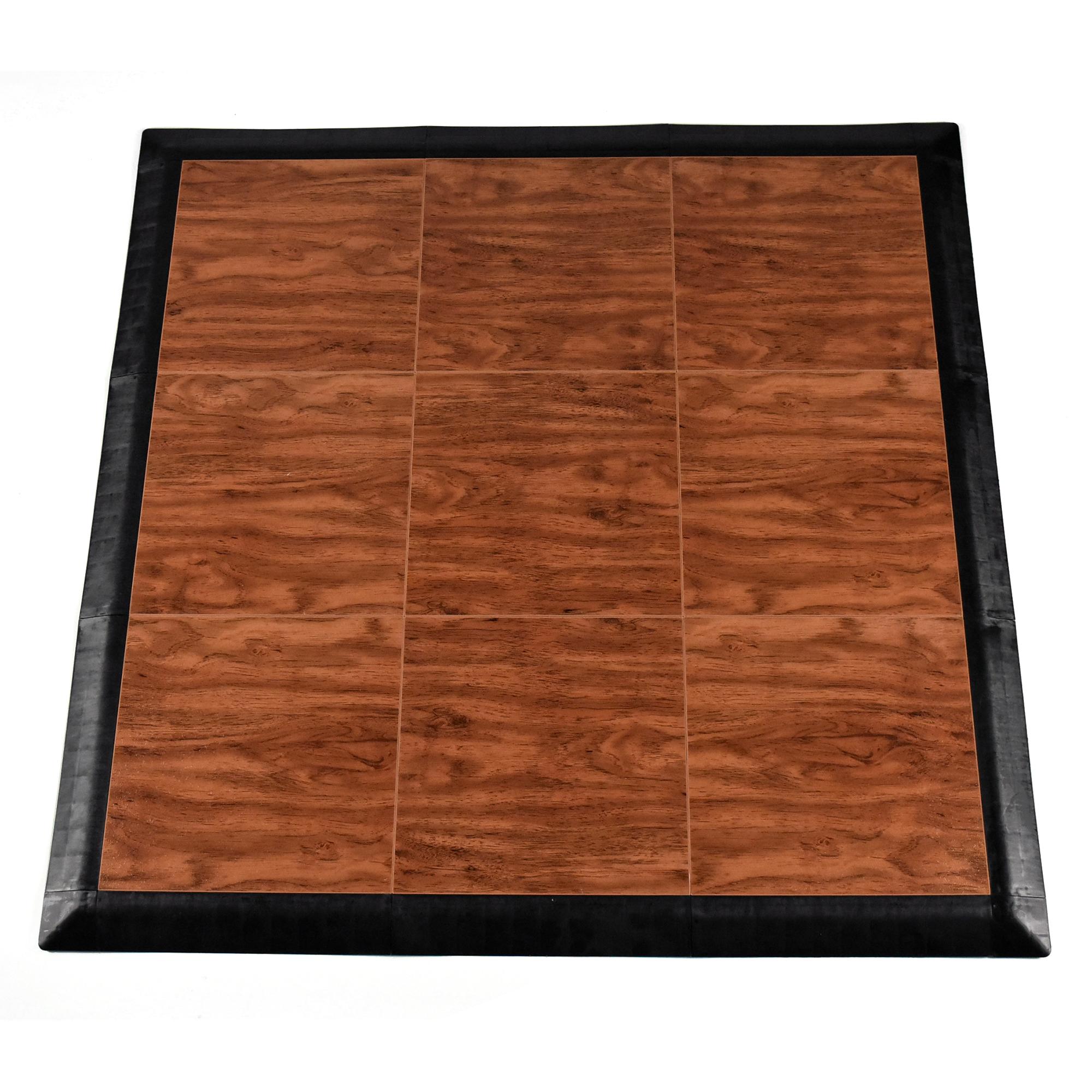 Greatmats Portable Tap Dance Kit 9 Tiles - Cherry