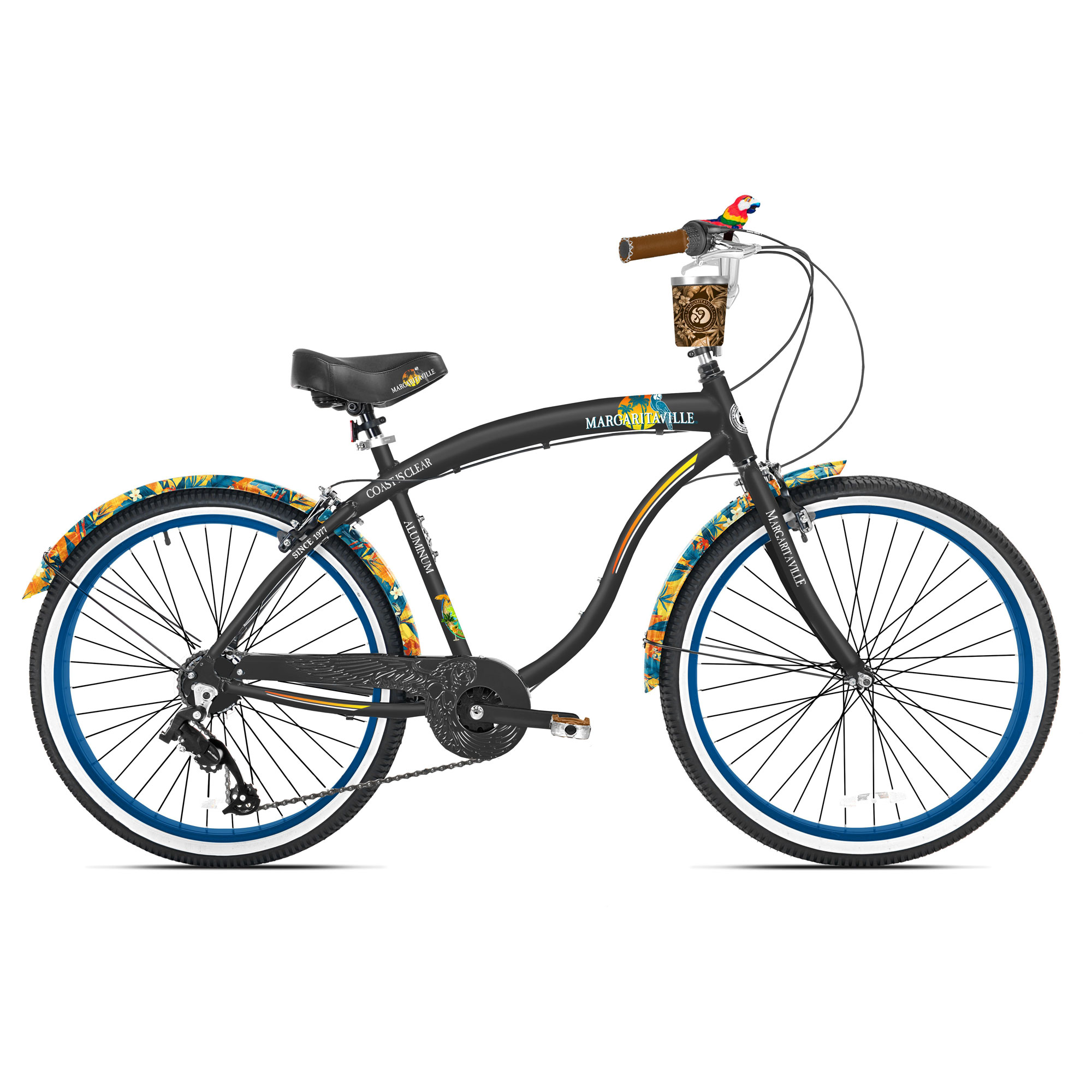 Margaritaville 26 Cruiser Womens Cruiser Bike w//Sturdy Handles /& Alloy Frame