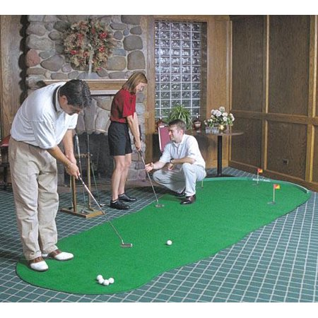 - Big Moss Golf THE ADMIRAL 6' X 15' Practice Putting Chipping Green w/ 3 Cups