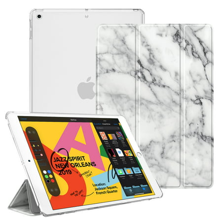 Translucent SlimShell Case for 2019 iPad 10.2 Inch ( 7th Gen ) - Fintie Tablet Cover with Auto Wake/Sleep 102 Carrying Case