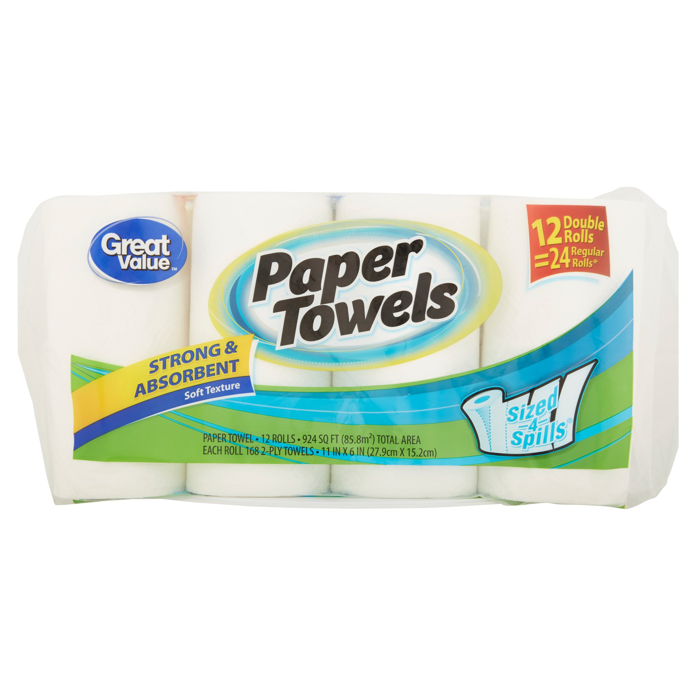 paper towel buying guide Get ready to be selecting sizes for a long time because bounty® select-a-size™ paper towels are 2x more absorbent i won't buy a big package again.