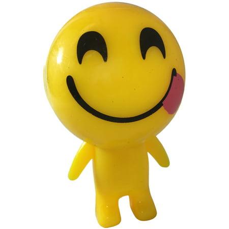 Light Up Emoji Emote Emoticon Smiling Tongue Face Man Buddy Decoration