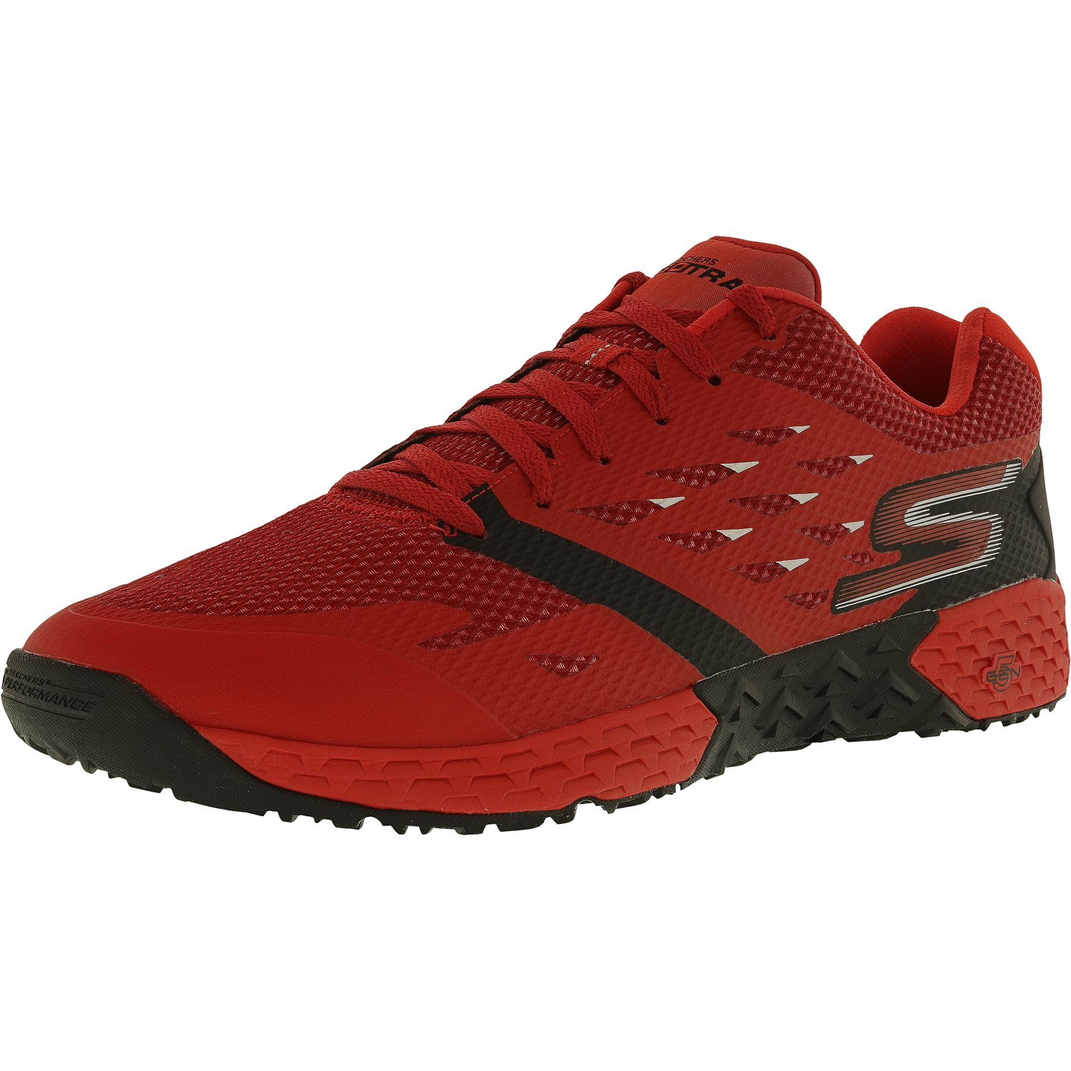 Skechers Men's Go Train-Endurance Red / Black Ankle-High Running Shoe - 9M