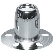 TOPLINE WHL C126 3.18 In. Wheel Center Cap, Silver