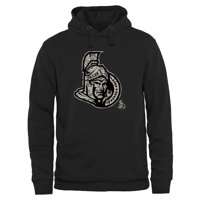 Men's Ottawa Senators Black Rink Warrior Pullover Hoodie