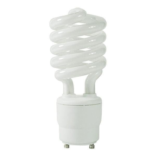 Spiral CFL - 26 Watt -  100W Equal - 2700K Warm White - GU24 Base - GCP 084