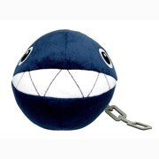 "Little Buddy LLC, Super Mario All Star Collection: Chain Chomp 6"" Plush"