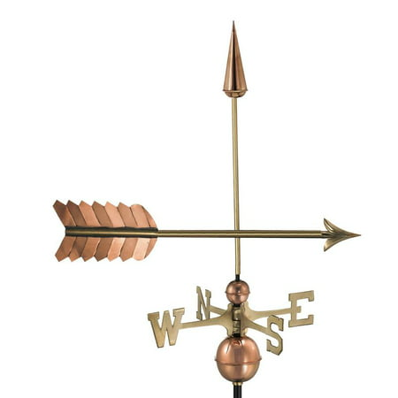 Arrow Weathervane, Pure Copper -