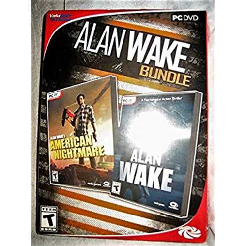 Microsoft ALAN WAKE *BUNDLE* AMERICAN NIGHTMARE & ALAN WAKE PC GAME