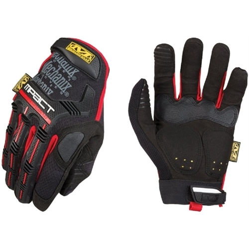 Mechanix Wear M-Pact Black/Red, X-Large MPT52011